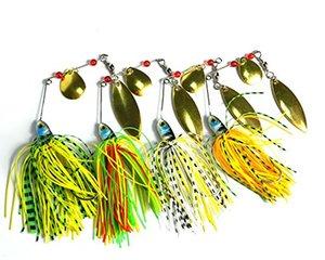 BUZZBAIT Spinner lead head рыболовные приманки рыболовные приманки с голографической окрашенные лезвия для бас форель щука рыболовные снасти 17.4 г