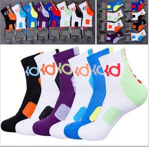 Hochwertige KD Elite Socken Herren Baumwolle Verdickung Deodorant Handtuchboden Sportsocken professionelle Basketball Socken Ausverkaufspreis