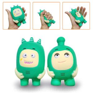 Squishies солдат новые игрушки Kawaii Squishy Jumbo зеленый мультфильм релаксация дети аромат медленный рост телефон ремень Бесплатная доставка SQU030