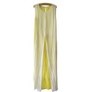 Vestido de chiffon europeu e americano, vestido colorido, vestido 1227
