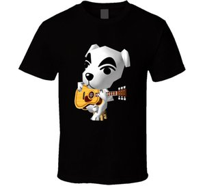 Kk Slider Animal Crossing Funny T-shirt Camiseta para hombre Muchos colores de regalo Nuevo más nuevo 2018 Moda Extraño Cosas Camiseta Hombres