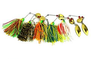 LENPABY 5 шт. приманки Рыбалка жесткий Spinner приманка Spinnerbait Buzz Bait джиг ложка приманки щука бас 16.3 г / 0.57 унций