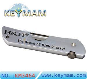 HH 6-em-1 Fold Escolha Ferramenta 6pcs Foldbale Seis único gancho gazuas bolso Escolha Ferramentas Tool Set Cadeado Bump Chaves serralheiro