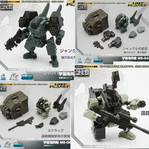 MFT Transformation MS04 MS-04 Tiger Sea Soliders MS06 MS-06 Sniper Powered-suit Diaclone Figura de Acción Robot Toys