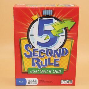 لعبة NEW NEW GAME 5 Second board board - لعبة Humanity 5Second RULE - 5 Second Rule - فقط قم بصقها!