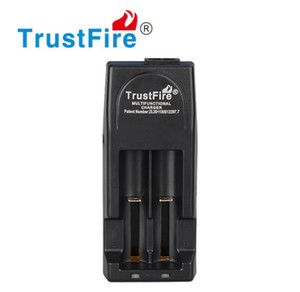 Original Trustfire TR001 2-Slot Carregador De Bateria De Lítio para 14500 16340 18500 18650 60 pçs / lote