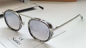 óculos de sol novos de design de moda para homens LANAI 2341 pequeno quadro design moderno e rua estilos UV400 lente de óculos de proteção ao ar livre