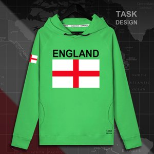England Englisch ENG UK Hoodie der Männer Pullover Pullover Männer Street Kleidung Hip-Hop-Trainingsanzug Nation Flagge Frühling neues Sweatshirt