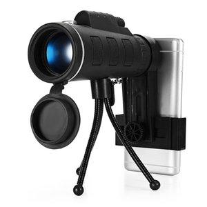 40x60 Monocular Focu Monocromático Duplo Único Ao Ar Livre Mini HD para Telemóveis Lente Da Câmera Do Telescópio Zoom Spotting scope