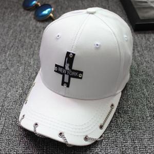 New York Özgürlük Heykeli Şapka Kova Zincir Çapraz Beyzbol Şapkası Süper kalite Spor Ördek Dil Saçak Gölgelendirme Erkekler ve Kadınlar Şapkalar