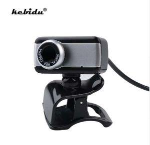 Kebidu Original Mini USB Digital 50MP Moda Webcam Elegante Rotate Camera HD Web Cam Com Microfone Mic Clipe Atacado