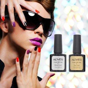 Long Lasring Base Coat Nail Gel Transparent Gel Nail Polish Soak Shiny Sealer Manicure Base polish Lacquer Removable primer