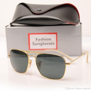 New Brand Designer Fashion Men and Women Sunglasses Sport Vintage Sun glasses Retro Eyewear With box and cases mans Sunglasse with Box Case
