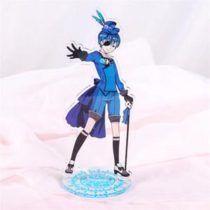 Anime negro mayordomo Kuroshitsuji Dall Ciel Phantomhive acrílico soporte figura regalo de Halloween Cosplay soporte de escritorio regalo de Navidad