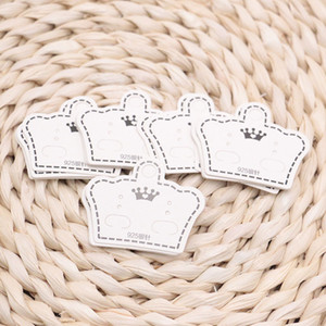 Wholesale 1000Pcs lot Paper Necklace Cards & earrings Packaging Display kraft card for pendant Jewelry Price Tags