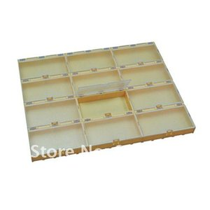 free shipping 12pcs colorful SMT Electronic Component Mini Storage box
