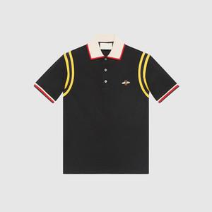 Polo de la moda italiana chun xia nuevos hombres polo camisetas ocio polo tamaño 3 xl en Asia