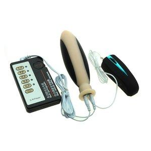 Shock Diary Vibrador Erwachsene Sex-Stecker Dildo Vibrator Frau für Spielzeug Electro Prostata Massage Stecker Hintern Vibrationsbullet D18111501 Anal Tcnlt