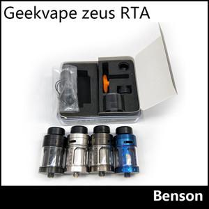 Geekvape Zeus RTA clone Tank 4ml Top Airlow No Leakage Rebuidable Tank Atomizer 810 Drip Tip