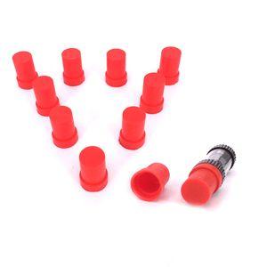 Tapa de boquilla de silicona tapa Tapones de silicona de punta de goteo desechables para Amigo Liberty V9 tanque V1 universal cartuchos de punta redonda de vape