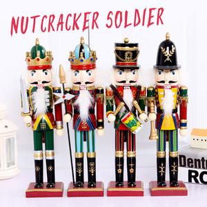 30 см солдат Щелкунчик кукольные украшения дома на Рождество креативные украшения и Feative и вечеринку Рождественский подарок