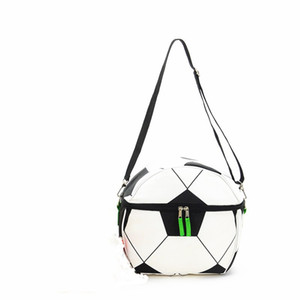 Oxford Thermal Picnic Bag Moda portátil lonchera con aislamiento resistente al desgaste Eco Friendly Football Print Bags Cooler 18 5lp jj
