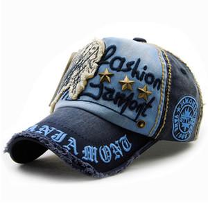 Xthree gorra de béisbol del sombrero del snapback casquette estilo antiguo bordado de la manera de algodón para hombres mujeres