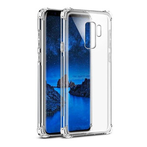 High Quality Silicon Mobile Phone Case For Samsung Note9 S9 Plus S8 Full Protective Soft TPU Cell Phone Case