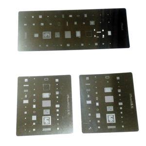 Paslanmaz Çelik Stencil Kaynak Araçları Bitki Kalay Mesh BGA Tamir iPhone 8 iPhone 8 Artı iPhone X için Reballing