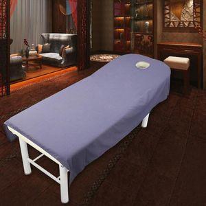 80 * 190 cm Kozmetik salon levhalar SPA masaj tedavisi yatak masa örtüsü levhalar delikli Sac ücretsiz kargo