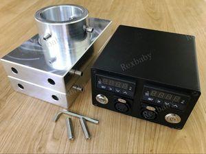 """Platos de presión de resina de 4x7 """"con cuatro varillas de calentamiento PID"""
