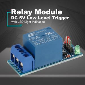 미니 1 채널 DC 5V 낮은 레벨 트리거 인터페이스 보드 릴레이 모듈 Led 램프 보호 키트 전자