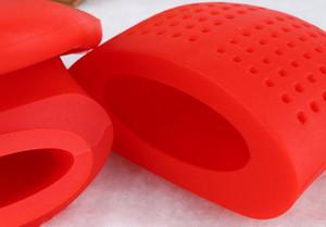 4 colori Carino Silicone Tè Infusore Carino Lip Tongue Teapot A Base di Erbe Spice Filtro Filtro portatile utensili da cucina
