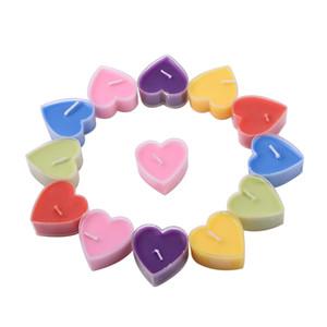 En forma de corazón flotador vela romántica boda decorativa sostenedor de vela vela taza para la fiesta de cumpleaños adorno navidad juguete