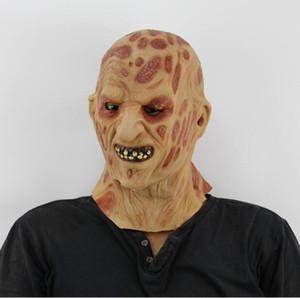 Freies Verschiffen heißer Verkauf realistische Spielzeug krueger Kostüm Requisiten Latex Freddy Maske Halloween Horror Ghost Zombie Freddy Jason Maske