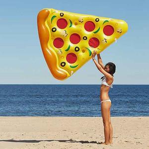 """Gonfiabile Pizza 72 """"180 centimetri nuoto Galleggianti Acqua Donut Pool giocattoli gonfiabili Swim Ring per il divertimento per adulti Nuoto Air Mattress"""