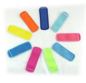 Porte néoprène popsicle glace Manches 18 * Congélateur Porte-6cm pour enfants Outils de cuisine d'été 10 atout couleur