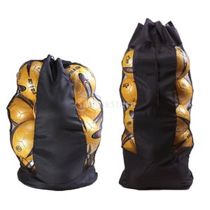 Large Heavy Duty Soccer Ball Basketball Volleyball Mesh Bag Adjustable Shoulder Belt