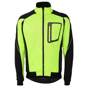 2018 Hommes Ropa Ciclismo Veste Veste Coupe-Vent Imperméable Manteau Garder Au Chaud Vert Bleu Rouge Noir Hiver Vélo Vêtements