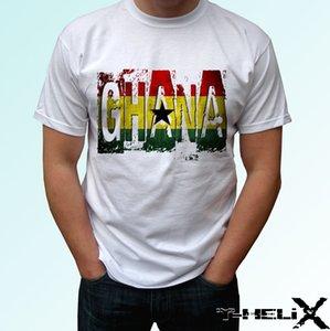 Bandeira de Gana-Camisa Branca de T Projeto Top Country-Mens Das Crianças Dos Miúdos Do Bebê Tamanhos Engraçado Tops Tee New Unisex Engraçado Tops Frete Grátis