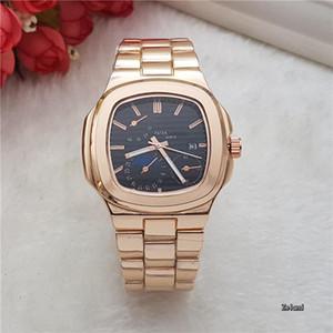 2018 top brand luxury watch uomo calendario black bay designer diamante orologi all'ingrosso donne di alta qualità vestito oro rosa orologio reloj mujer