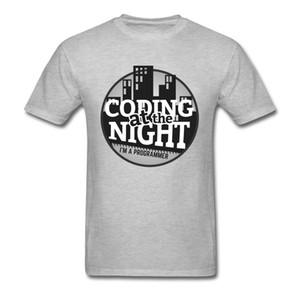 Funky Männer T-Shirt Programmierer Reiner Baumwolle Kurzarm Geek Tops T-shirt Rundhalsausschnitt T-shirt Hombre Camisetas Großhandel