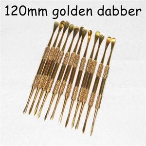 Lo strumento di dabber di alta qualità per i colori d'argento dorati dello strumento della cera di pulizia asciutta dell'erba della cera per ha scelto il trasporto libero DHL