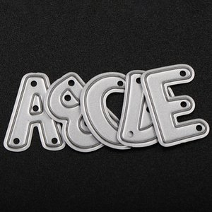 26pcs / Set DIY Alphabet Metal Die Cutting Dies Scrapbooking Gaufrage Dossier Costume for Machine De Découpe