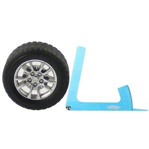 Ajustable RC Regla del coche Medida Altura Rueda Llanta Camber RC Car Balance Tool En carretera RC Accesorios para automóviles