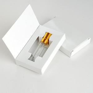 5ml 10ml Glasflasche mit Packungskasten Parfüm Zerstäuberspray Flasche Kosmetische Probe Vial Nachfüllbare Flaschen
