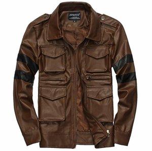 Automne hiver homme européen et américain nouvelle tendance individuelle han edition xieshen produits de haute qualité chaud manteau de fourrure style / M-3XL