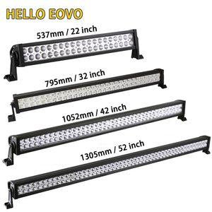 HELLO EOVO 22 32 42 52 pollici LED Light Bar LED Bar luce di lavoro per guida fuoristrada camion di trattori camion 4x4 SUV ATV 12V 24 V