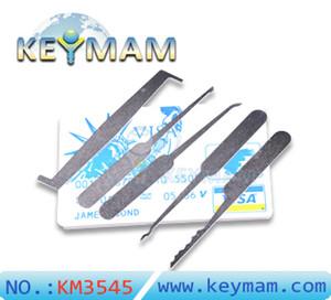 مجموعة اختيار بطاقة الائتمان - Secure Pro Credit Card-Sized Locking Set - بطاقة Lockpick الطوارئ