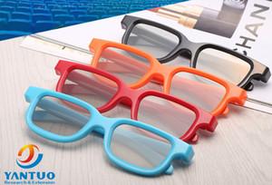 Óculos 3d polarizados circulares plásticos para o teatro digital Reald ou Masterimage Uso do formato do filme Sistema 3D passivo